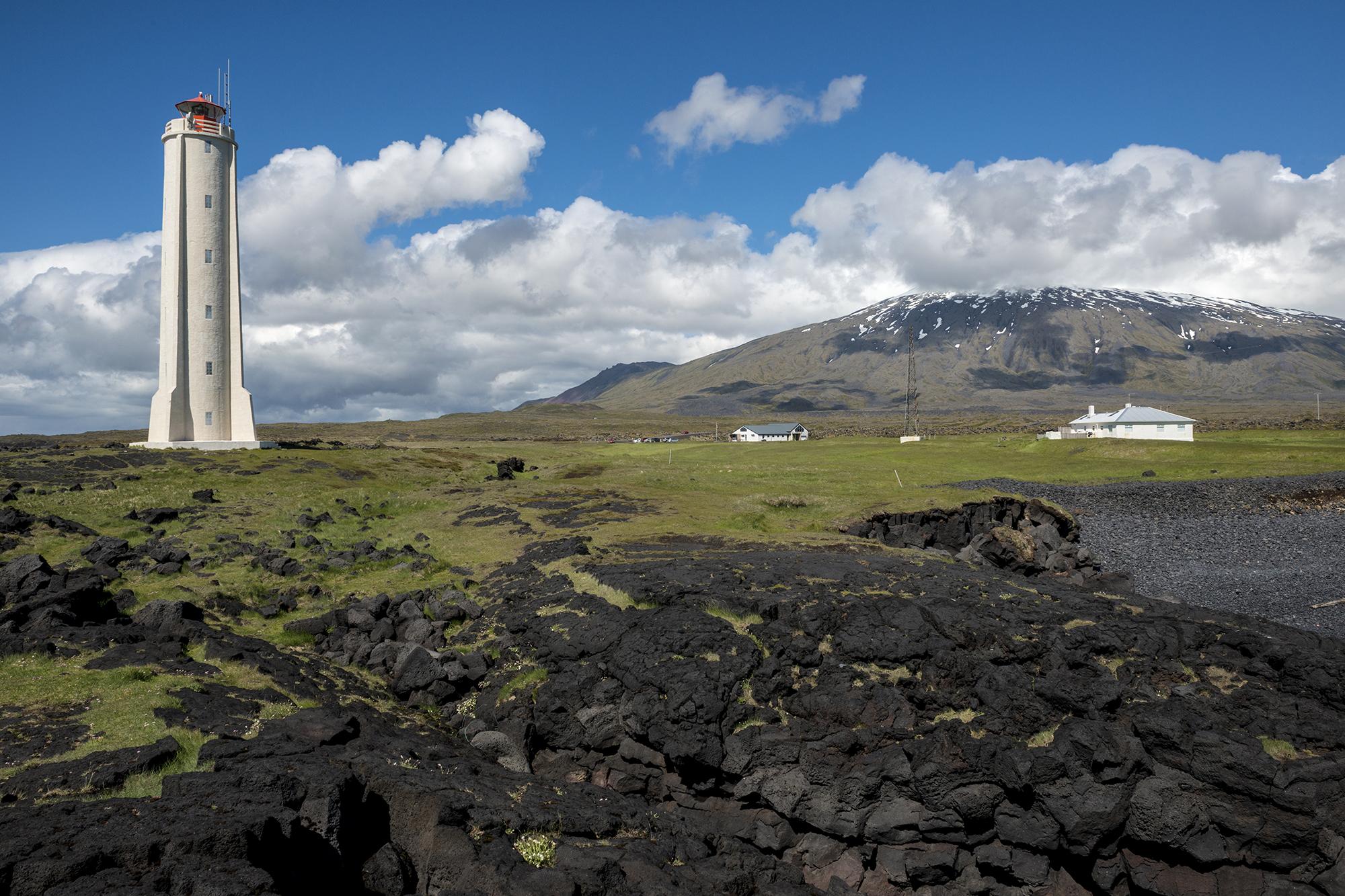 Malarrif lighthouse- IJsland